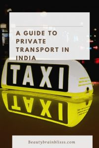 These are common 5 ways of private transport in India